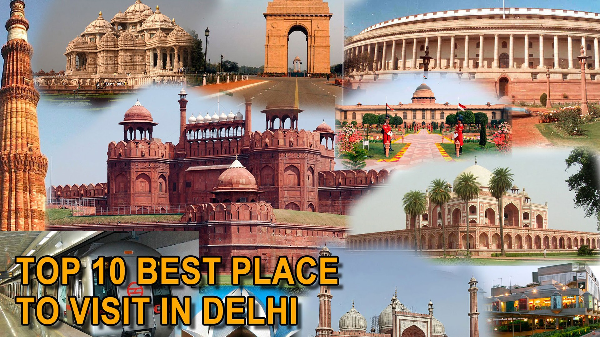 Ten Unexplored Places Delhi