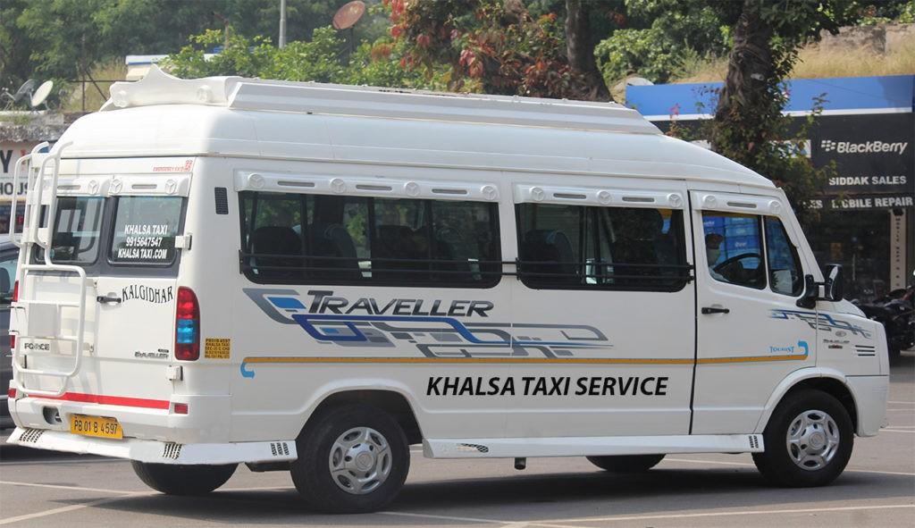 Chandigarh To Manali Tempo Traveler rental service Chandigarh Manali Tempo Traveler rental service