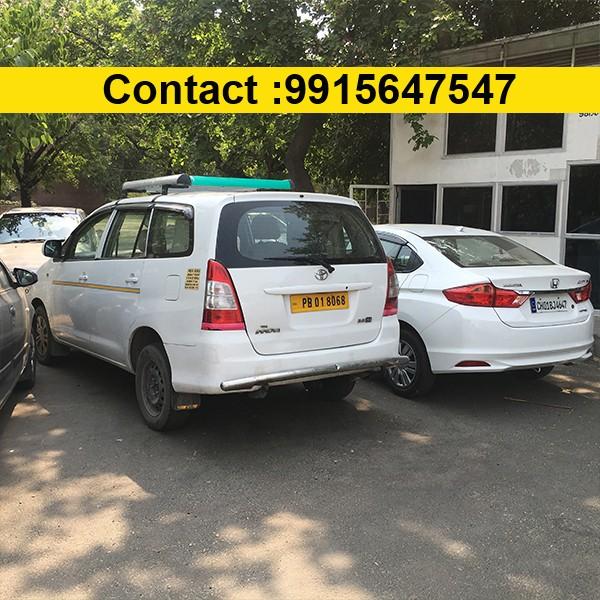 Chandigarh to Delhi Honda City Taxi