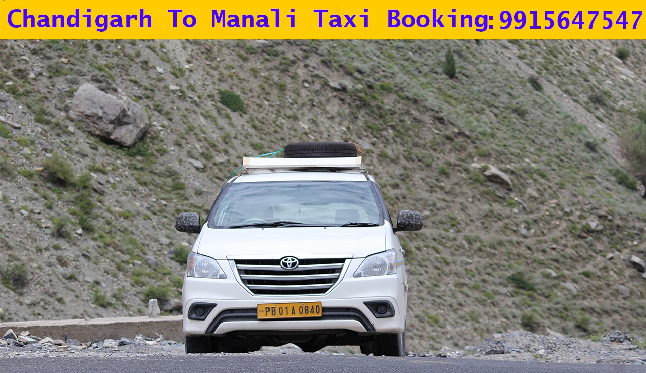 Chandigarh Manali Cab Services, One Way Chandigarh to Manali Cab Services