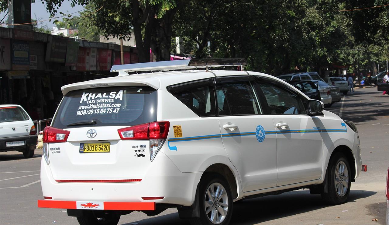 Chandigarh Manali Crysta Taxi Service One Way Toyota Crysta One Way