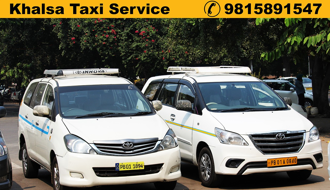 Innova Taxi Rate in Chandigarh, Toyota Innova Taxi Fare in Chandigarh