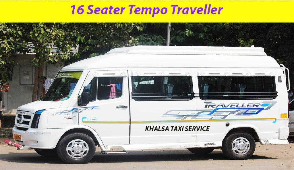 Chandigarh to shimla tempo traveller