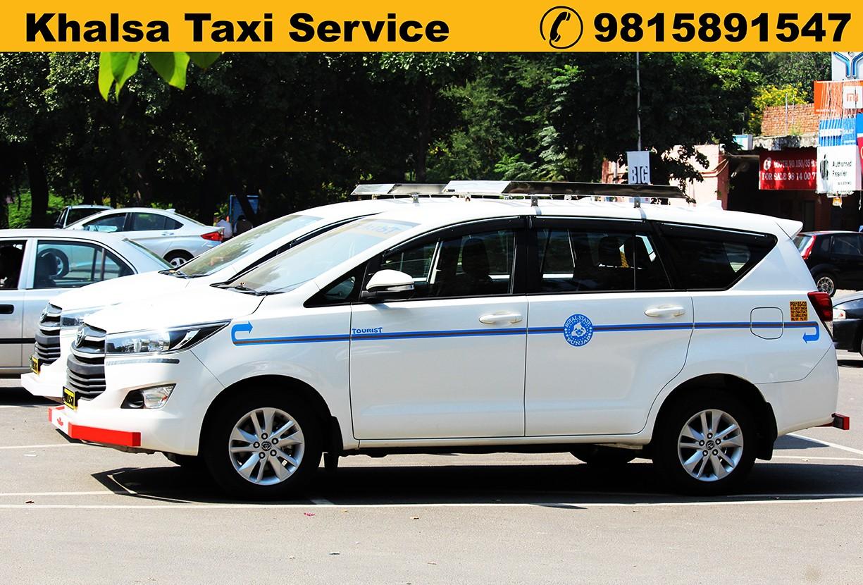 Anandpur sahib to Delhi taxi service one way Takhatgarh to delhi taxi