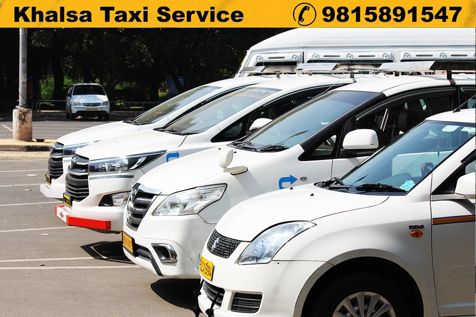 Premium Taxi In Chandigarh v