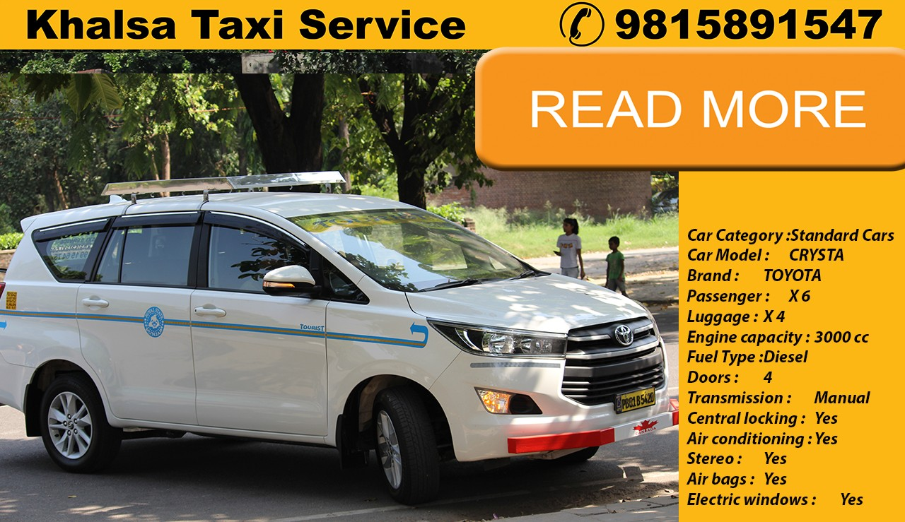 Hire Best Toyota Innova Cabs in Chandigarh Airport for Tour Packages
