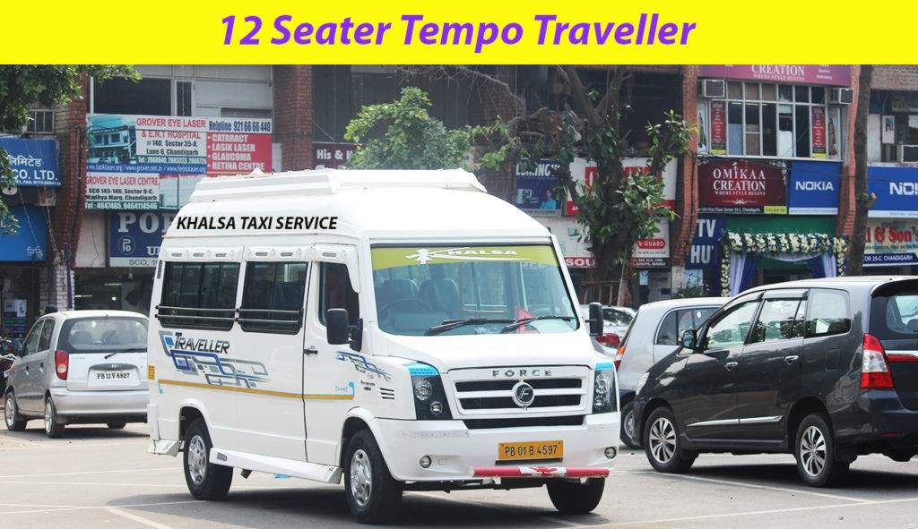 Hire Chandigarh railway station to Shimla Tempo Traveller Service for tours