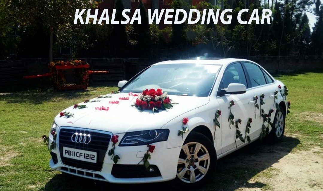Luxury Audi For Wedding in Punjab, Hire Audi car for wedding, Wedding audi cars