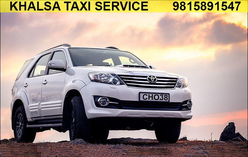 fortuner rent per km, Hire Toyota fortuner taxi rate, Luxury fortuner cab rates in Chd