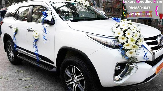 Fortuner on rent for marriage, Hire Toyota fortuner booking for Marriage