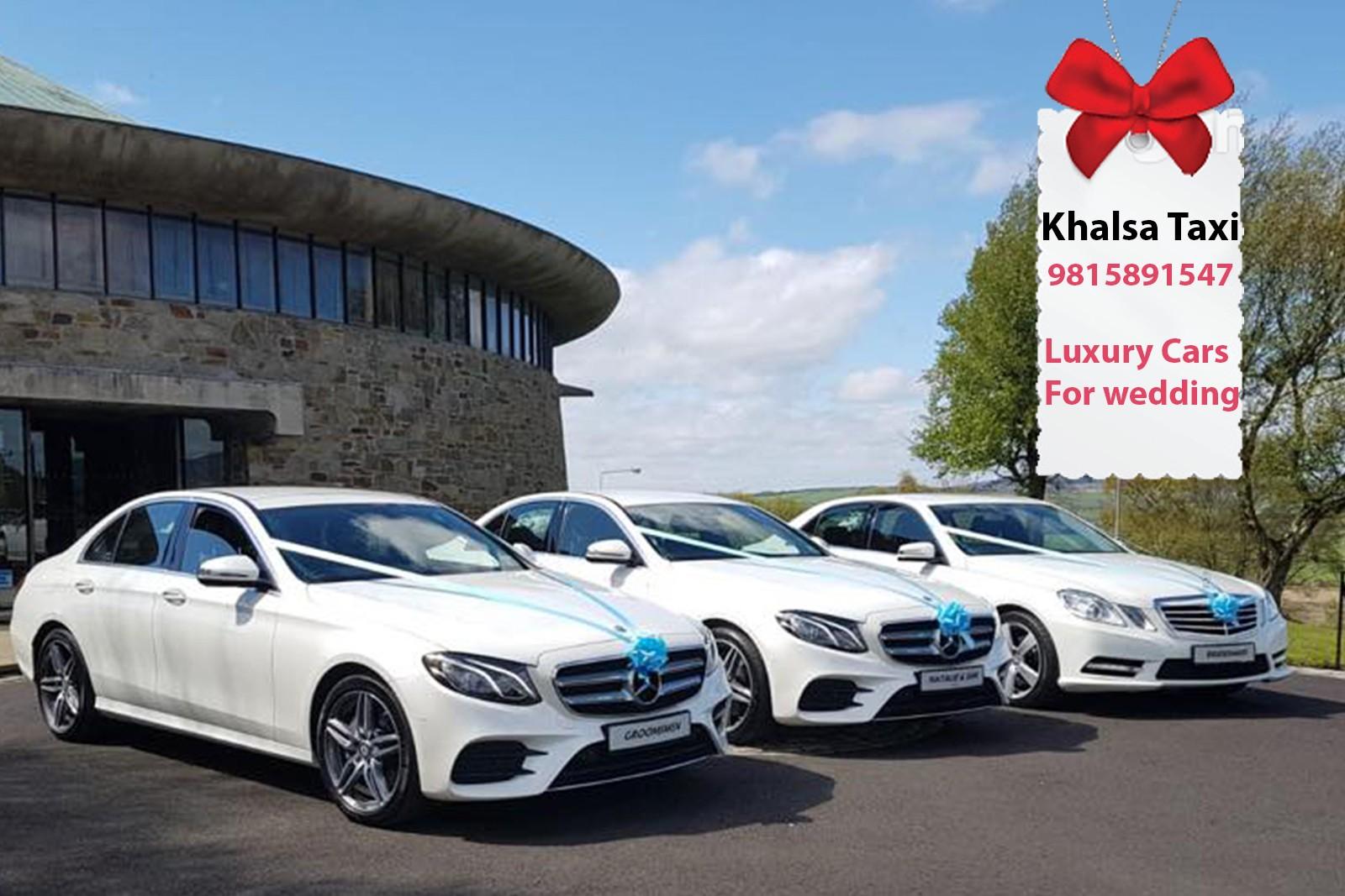 luxury wedding cab hire in ambala luxury wedding car hire in ambala and hire wedding cars in ambala audi & mercedes