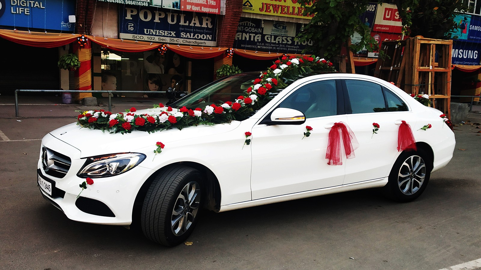 Doli mercedes car in Chandigarh Mercedes for doli, Luxury mercedes cars for doli, Doli mercedes cars in Chandigarh Kharar wedding cars Luxury wedding car hire in Kharar like Audi, Mercedes, Bmw, Jaguar, Fortuner, Honda City, Verna
