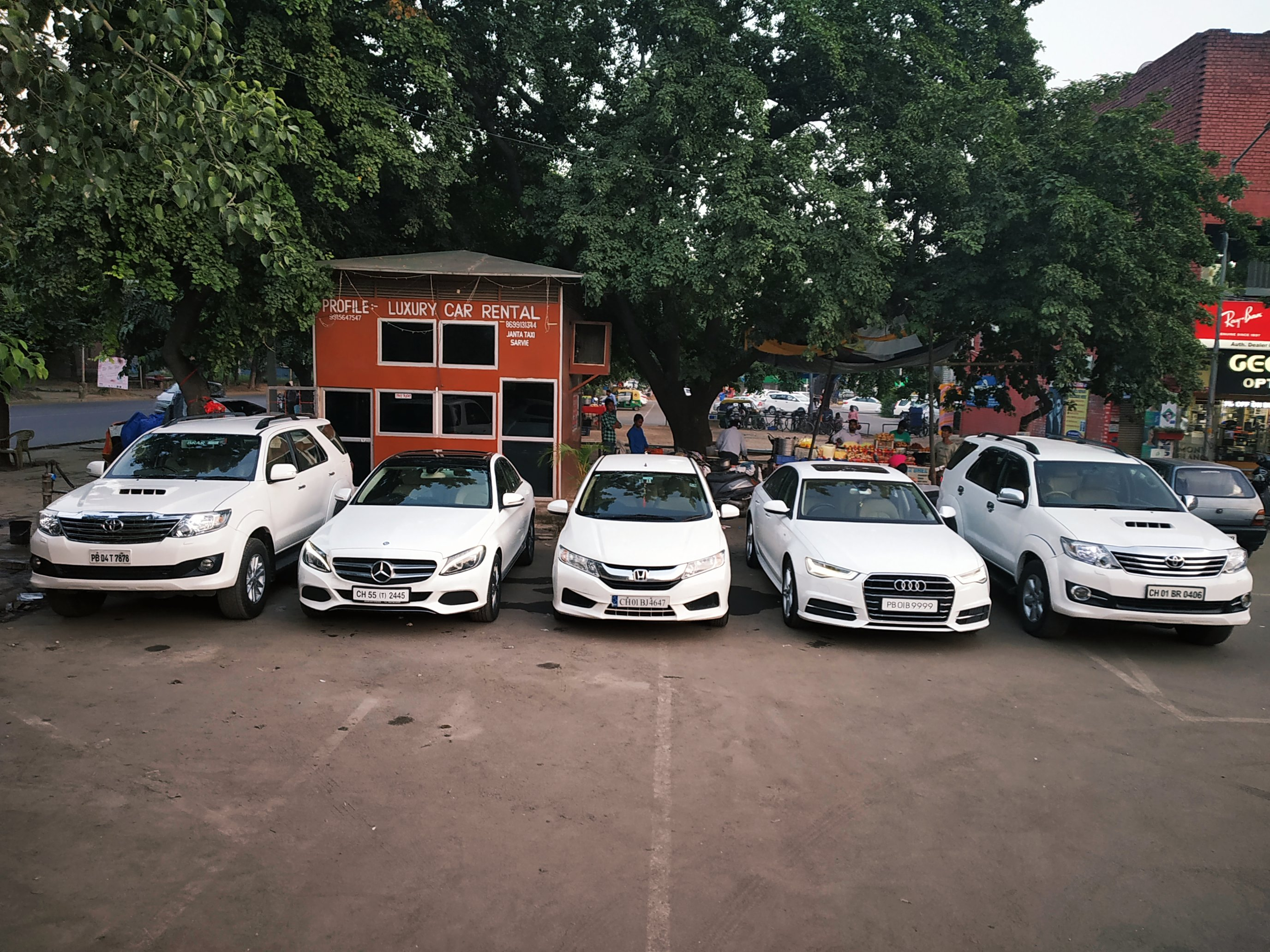luxury Car Rental Company in Mohali
