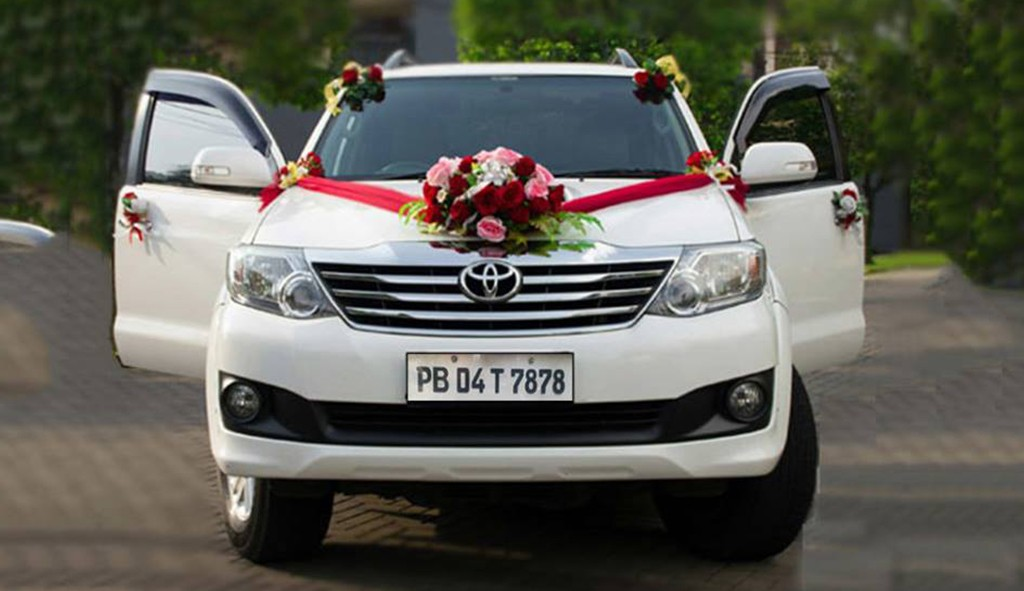 Fortuner For Doli, Luxury Toyota Fortuner wedding car in Chandigarh