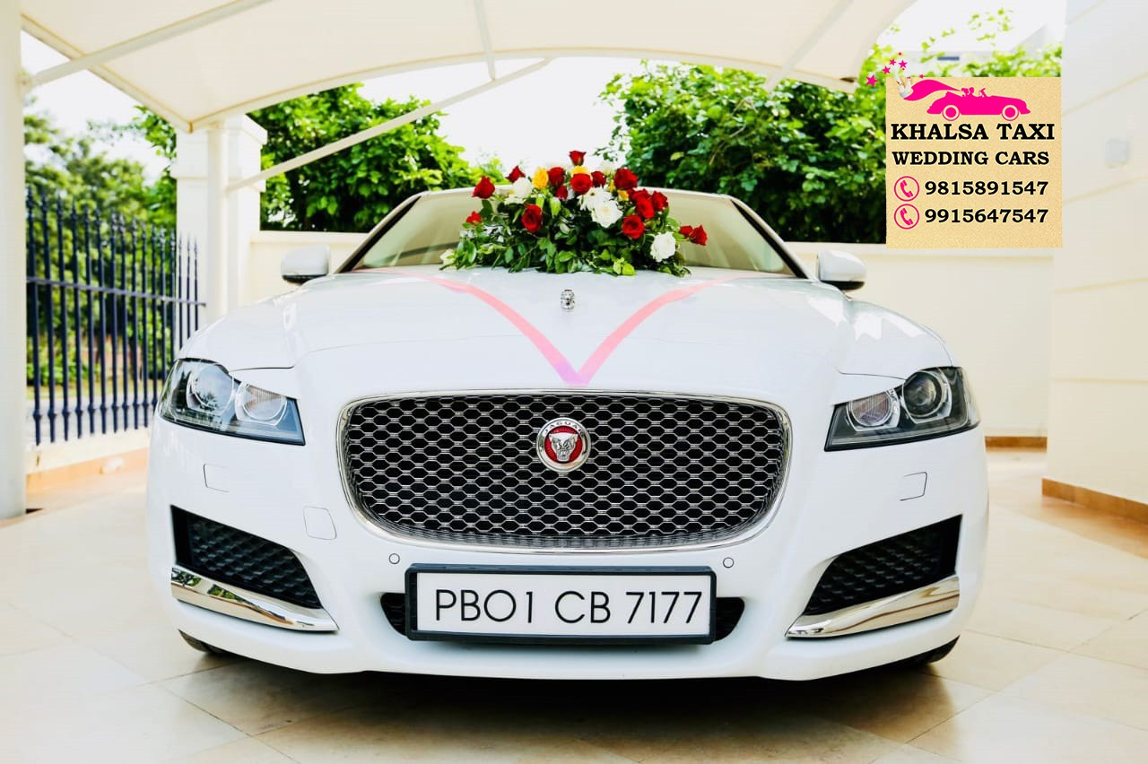 Jaguar car on rent in chandigarh, Jaguar XF Rental Service Chandigarh and Jaguar wedding car hire in Chandigarh, Luxury jaguar xjl for wedding