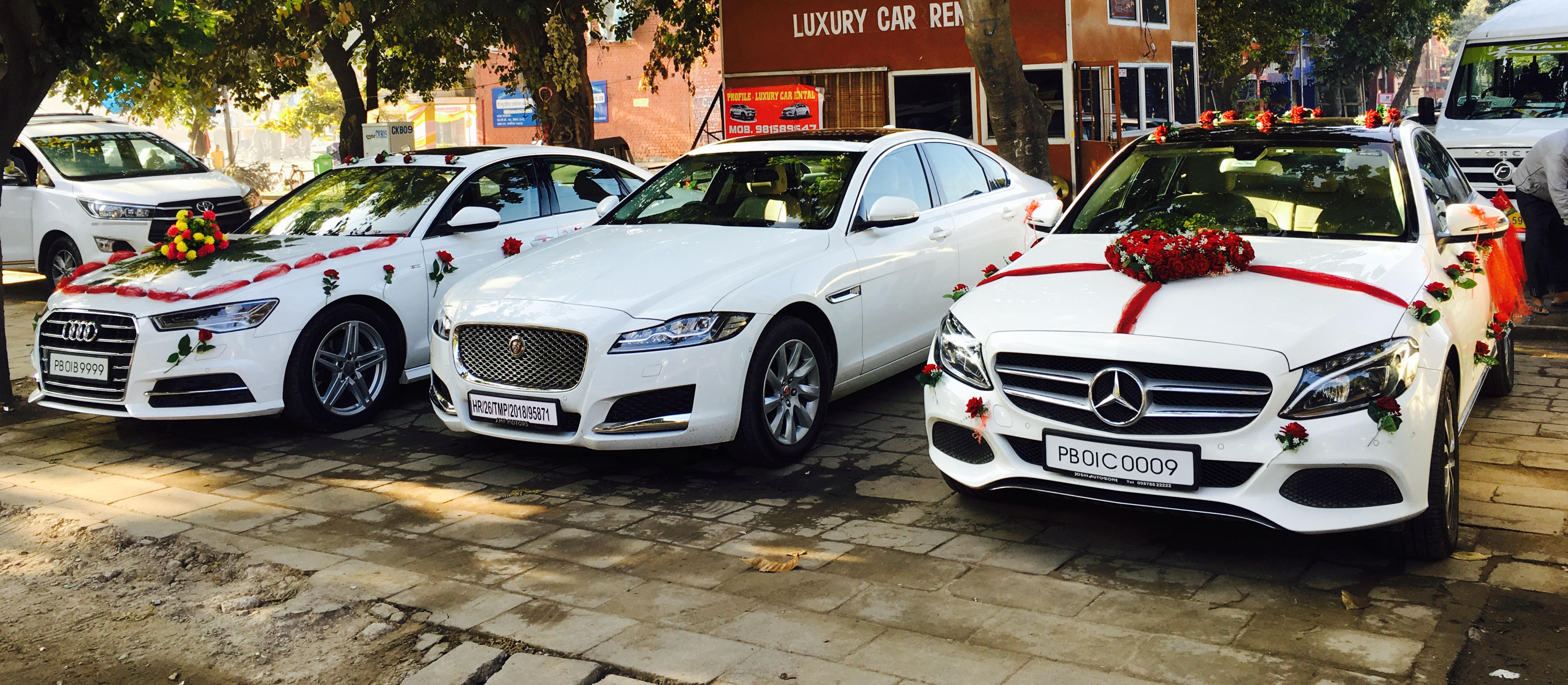 Wedding Car Rental Company in Chandigarh