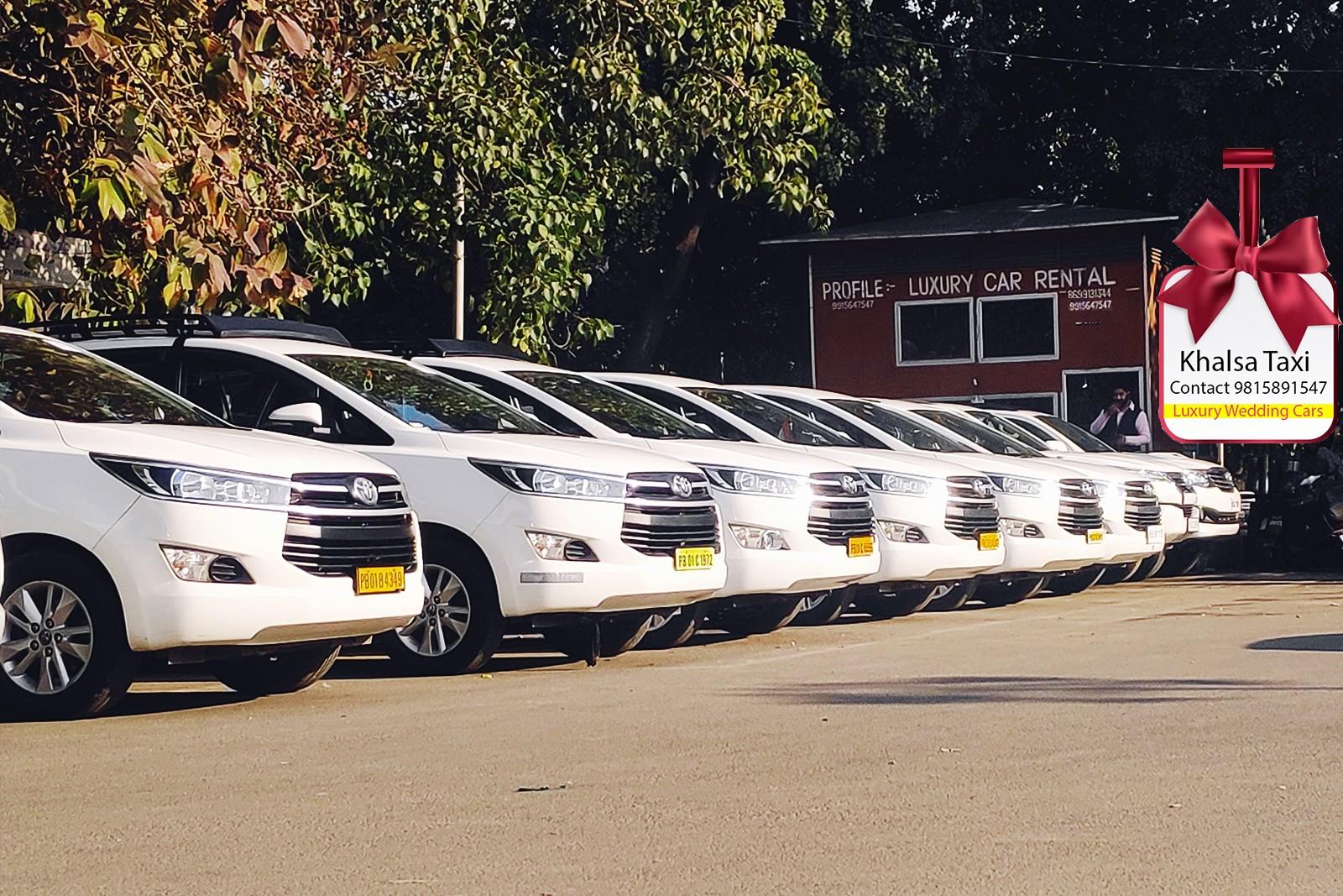 zirakpur innova crysta taxi