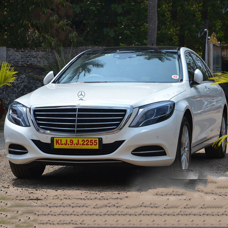 Mercedes S Class For Rent in Chandigarh