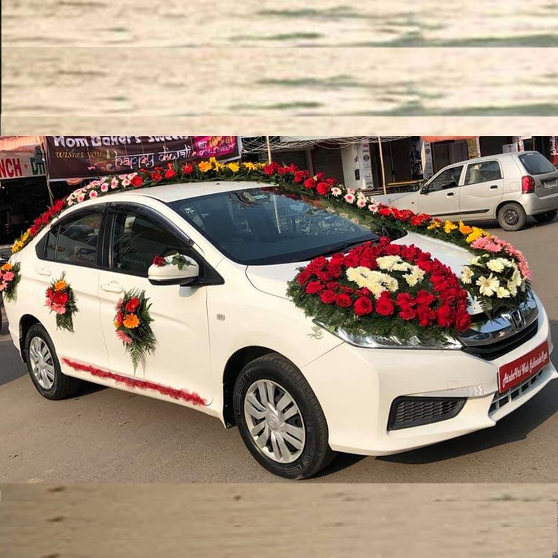 Honda city wedding cars