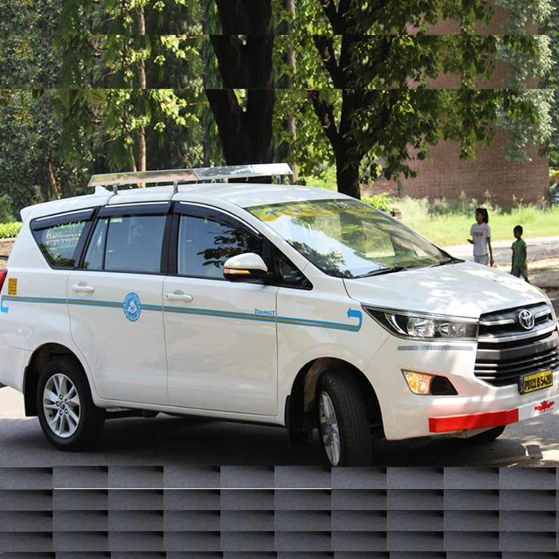 crysta taxi Delhi to Chandigarh toyota crysta fare