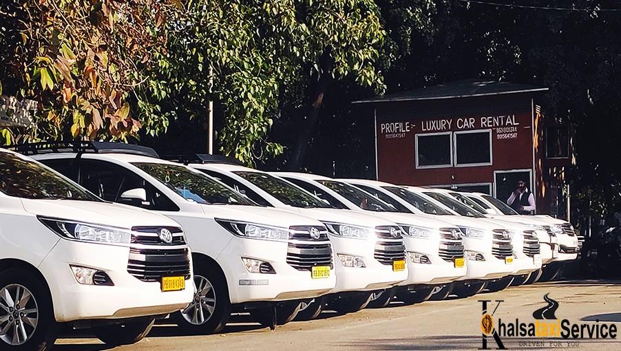 Delhi to Chandigarh Toyota Crysta fare one way