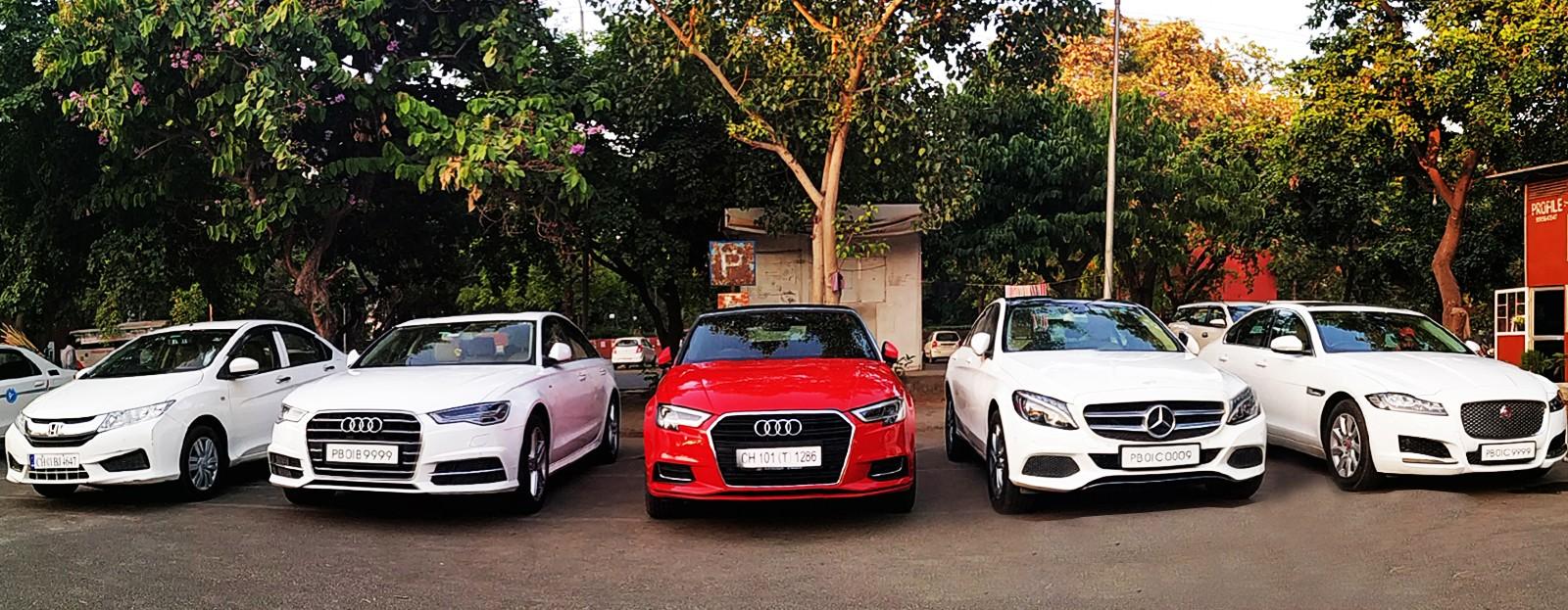 Luxury rental fleet in Chandigarh and Best Luxury cars company in Chandigarh, Premium cars provider in Chandigarh and luxury cab rental in Chandigarh