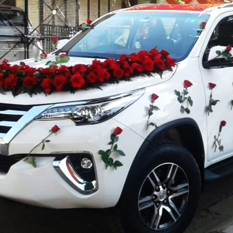 Toyota Fortuner Wedding Cars